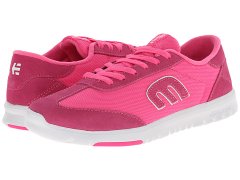 etnies - Lo-Cut SC W (Pink/White/Pink) Women's Skate Shoes