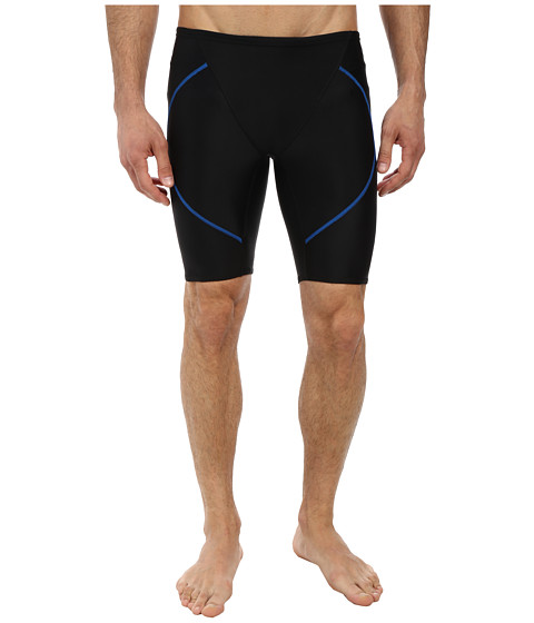 Zoot Sports - Swim Jammer (Black/Zoot Blue) Men's Swimwear