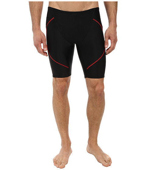 Zoot Sports - Swim Jammer (Black/Zoot Red) Men