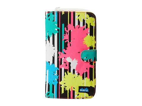 KAVU - Tango Clutch (Retro Palm) Checkbook Wallet