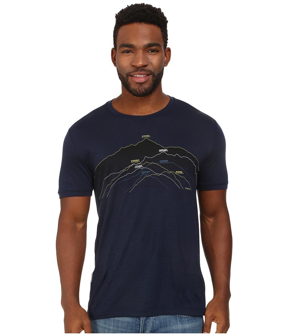 Icebreaker - Tech T Lite S/S (Admiral 3) Men's Short Sleeve Pullover