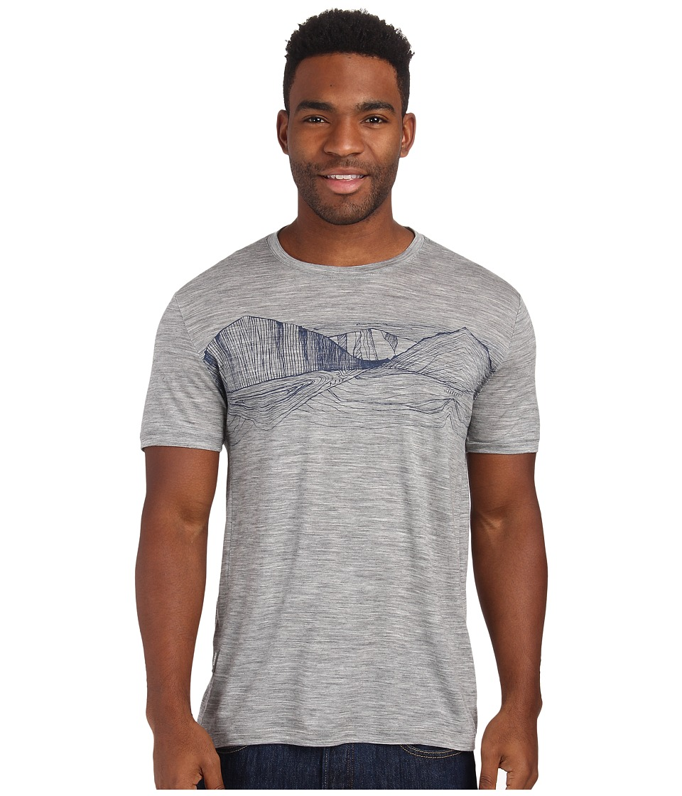 Icebreaker - Tech T Lite S/S (Metro Heather 2) Men