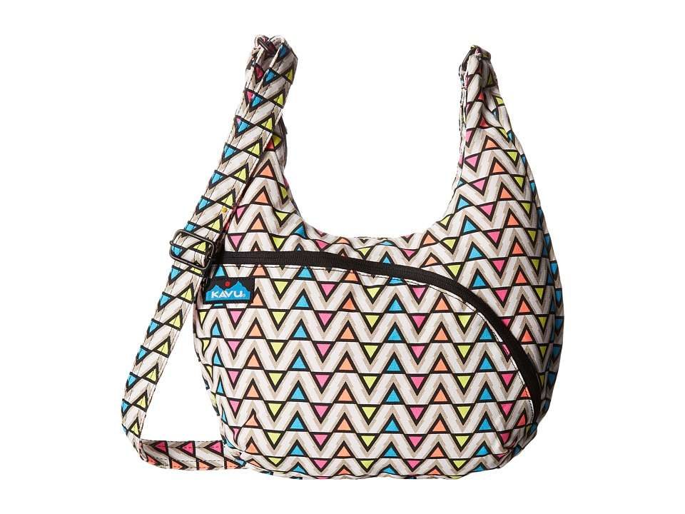 KAVU - Sydney Satchel (Electric Ave) Satchel Handbags