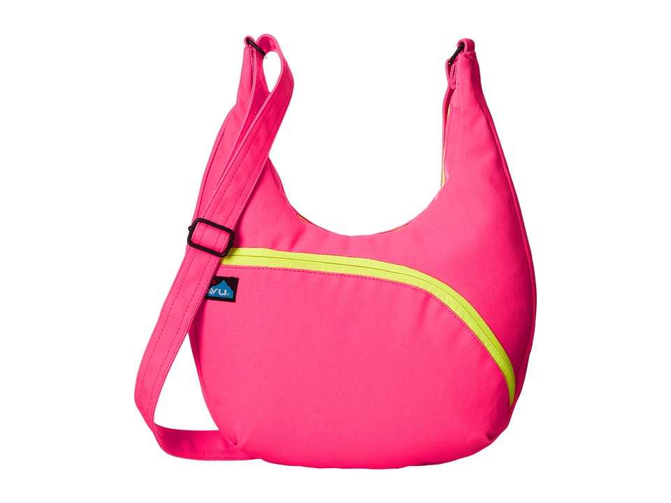 KAVU - Sydney Satchel (Wild Pink) Satchel Handbags
