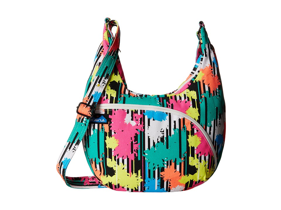 KAVU - Sydney Satchel (Retro Palm) Satchel Handbags