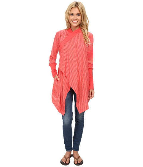 Icebreaker - Bliss Wrap (Grapefruit) Women's Sweater