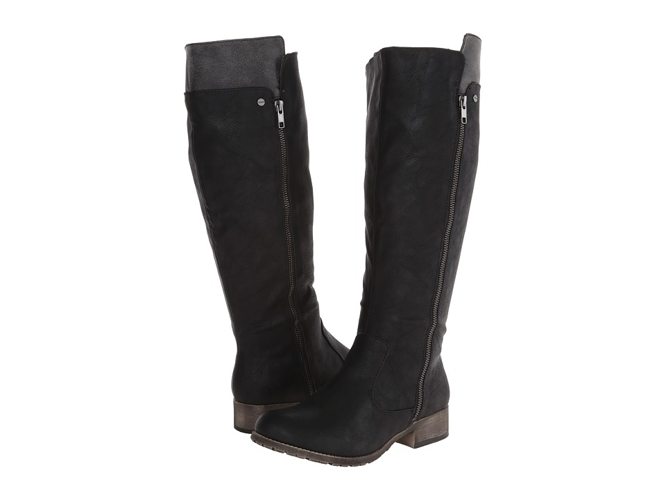 Jellypop - Norway (Black Smooth) Women's Zip Boots