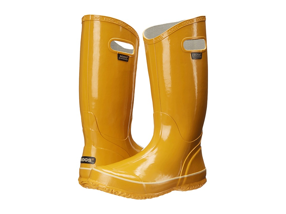 Bogs - Classic Glosh Rainboot (Mustard) Women