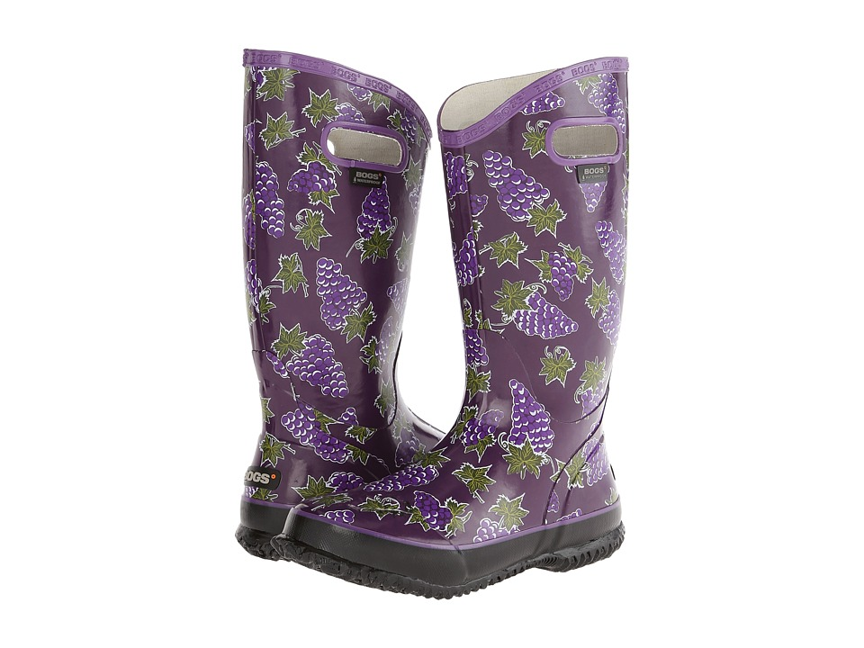Bogs - Rainboot Fruit (Grape) Women's Rain Boots