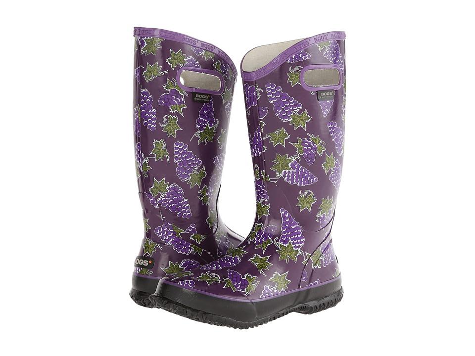 Bogs - Rainboot Fruit (Grape) Women's Rain Boots
