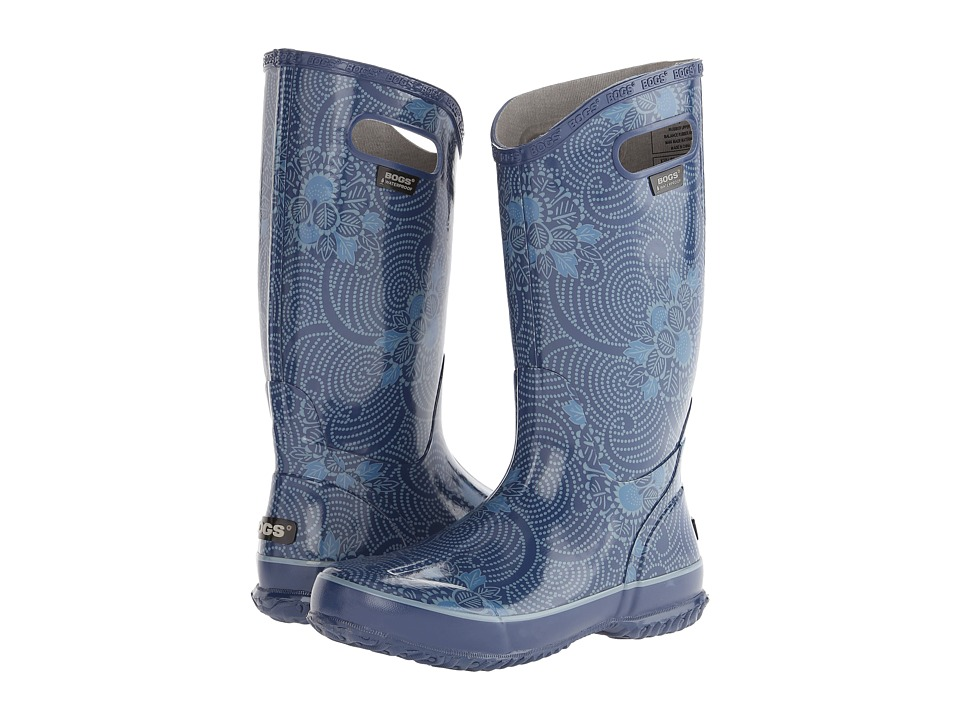 Bogs Rainboot Batik (Blue) Women