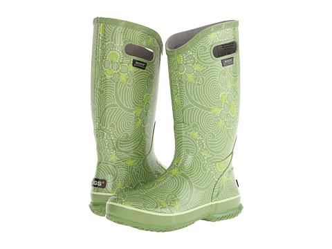 Bogs - Rainboot Batik (Green) Women's Rain Boots