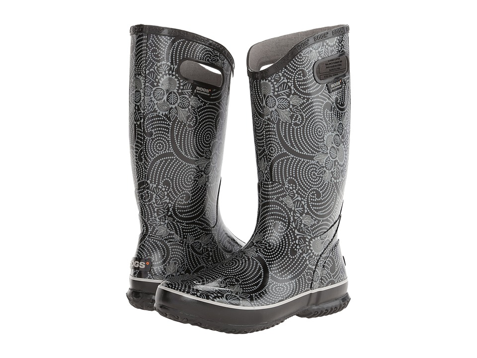 Bogs - Rainboot Batik (Black) Women's Rain Boots