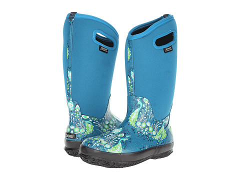 Bogs - Classic Forest Tall (Turquoise) Women's Waterproof Boots