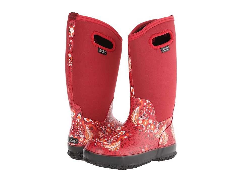 Bogs - Classic Forest Tall (Ruby Red) Women's Waterproof Boots