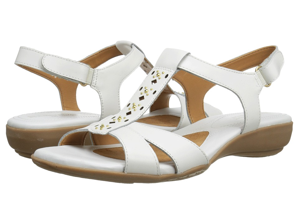 Naturalizer Capricorn (White Leather) Women