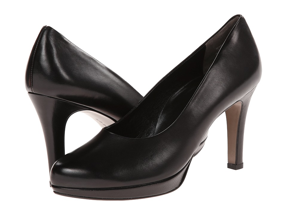 Paul Green - Olisa (Black Leather) High Heels