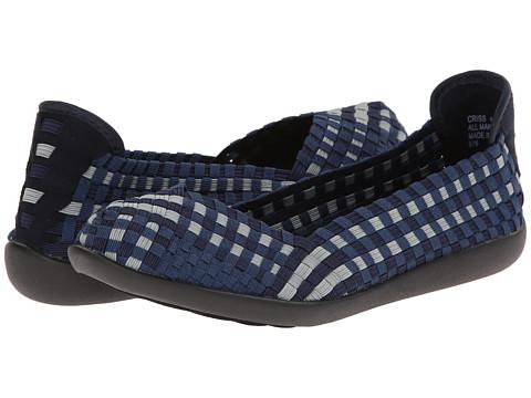 Steven - Criss (Navy Multi) Women's Flat Shoes