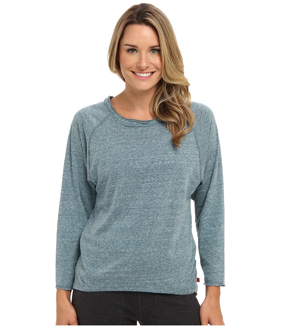 Josie - Heather Jersey Top (Jade) Women