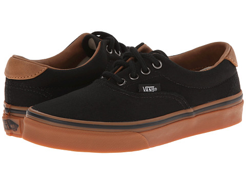 Vans Kids - Era 59 (Little Kid/Big Kid) ((C&L) Black/Classic Gum) Boys Shoes