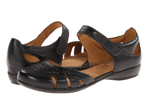 Naturalizer - Gail (Black Leather) Women's Shoes