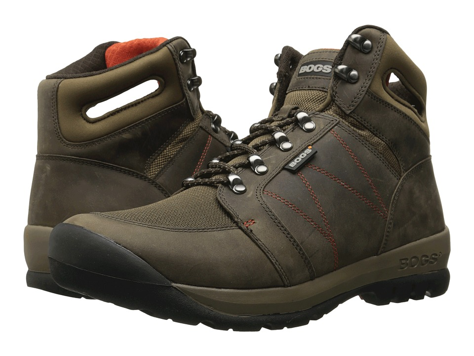 Bogs Bend (Chocolate) Men's Lace-up Boots