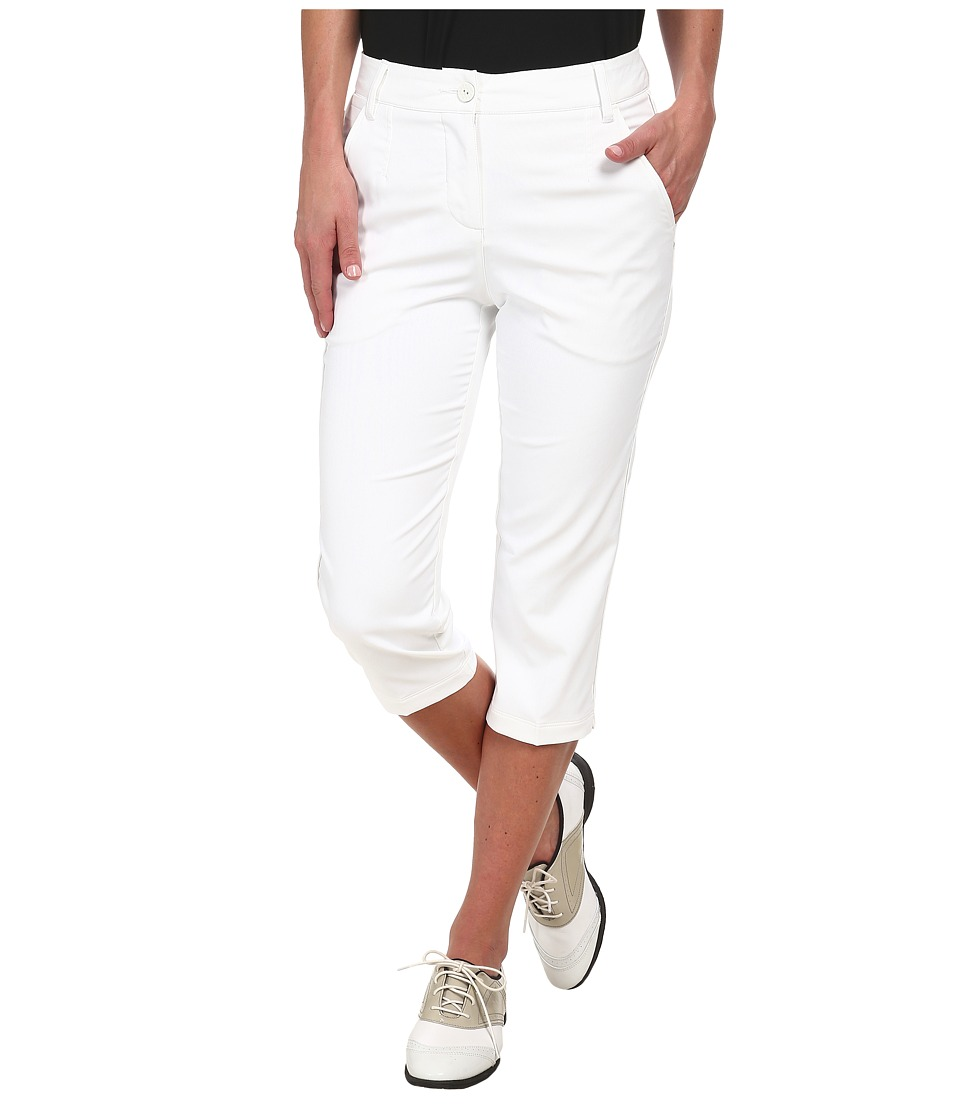 PUMA Golf - Solid Tech Capri '15 (PUMA White) Women's Capri