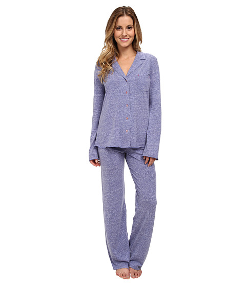 Josie - Josie Heather Jersey 30 Inseam PJ (Regal Blue) Women's Pajama Sets