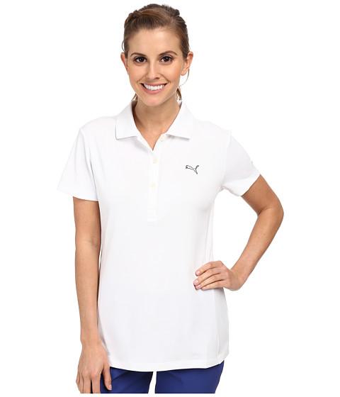 PUMA Golf - Golf Tech Polo '15 (PUMA White) Women's Short Sleeve Knit