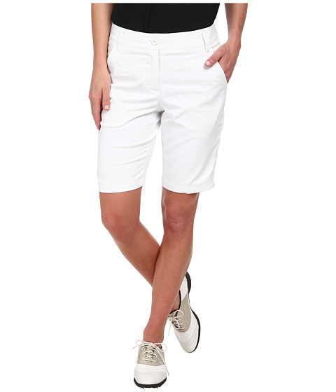 PUMA Golf - Solid Tech Bermuda Golf Short '15 (PUMA White) Women's Shorts