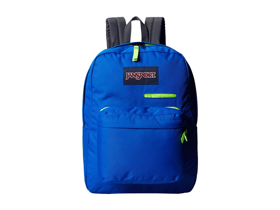 JanSport - Digibreak (Blue Streak) Backpack Bags