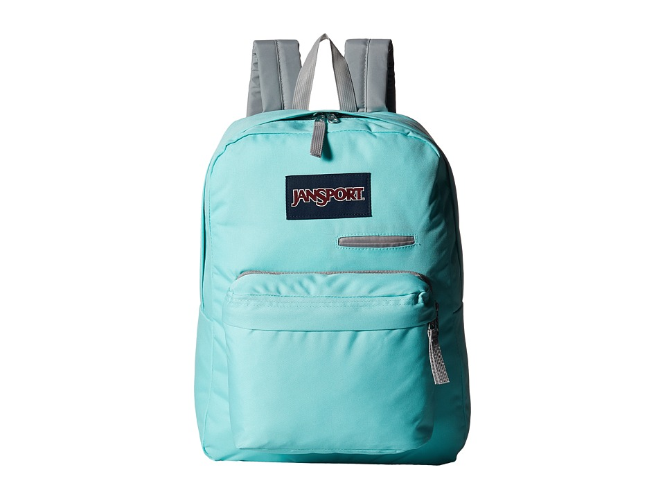 JanSport - Digibreak (Aqua Dash) Backpack Bags
