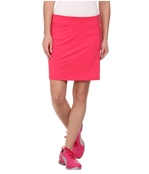 PUMA Golf - Solid Knit Golf Skort '15 (Raspberry) Women's Skort