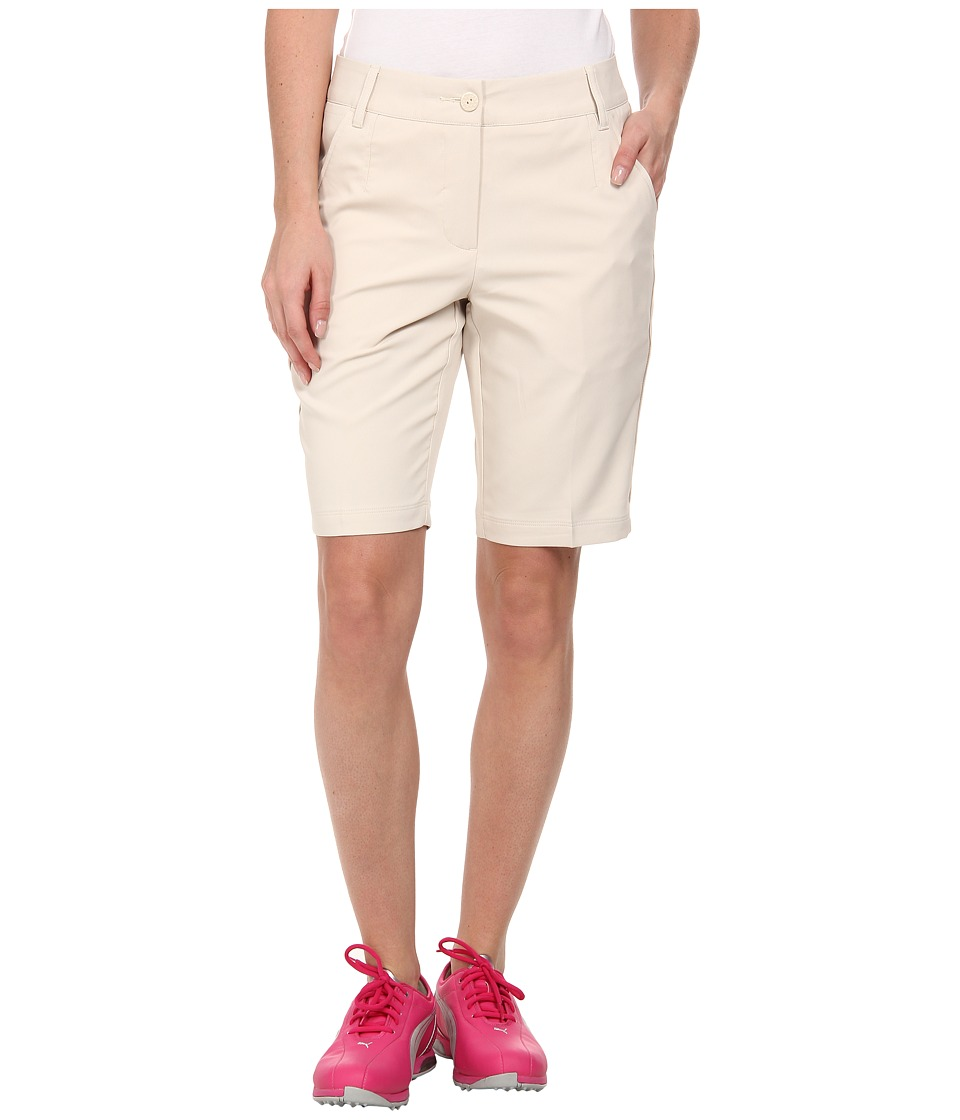 PUMA Golf - Solid Tech Bermuda Golf Short '15 (Oatmeal) Women's Shorts