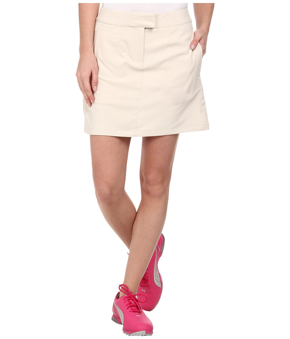 PUMA Golf - Solid Tech Golf Skort '15 (Oatmeal) Women's Skort