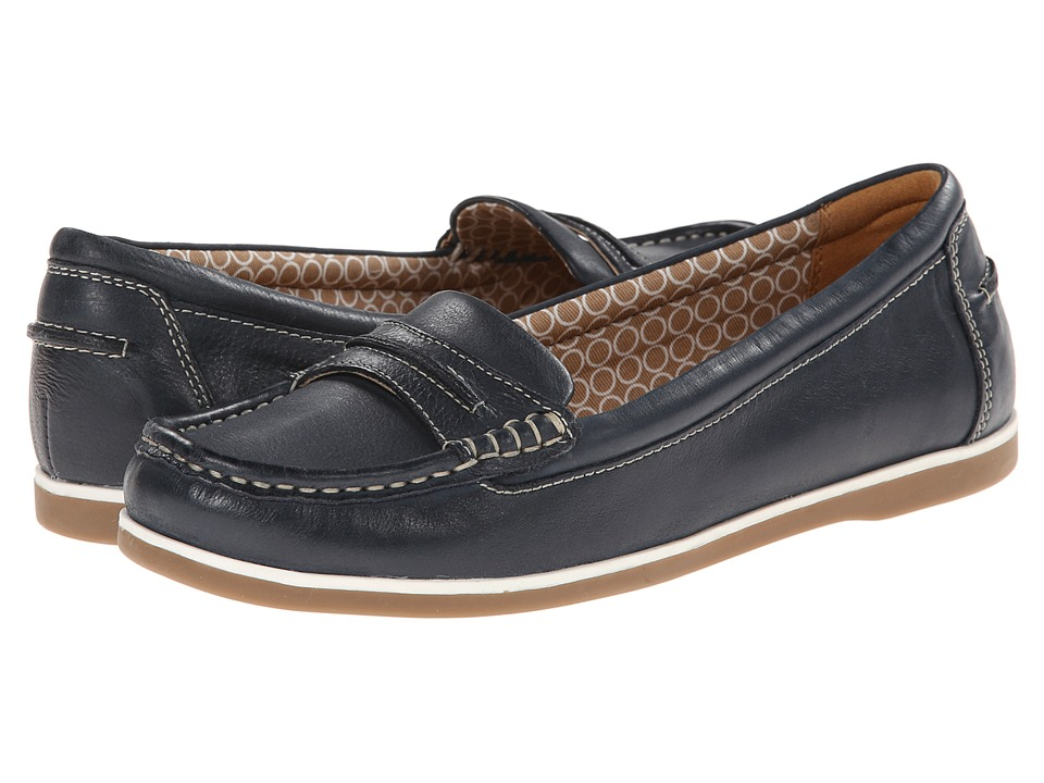 Naturalizer - Hamilton (Classic Navy Leather 2) Women's Slip on Shoes
