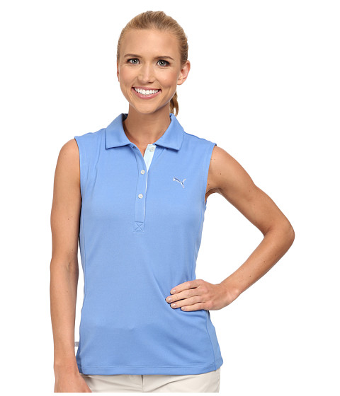 PUMA Golf - Golf Tech Sleeveless Polo '15 (Ultramarine) Women's Sleeveless