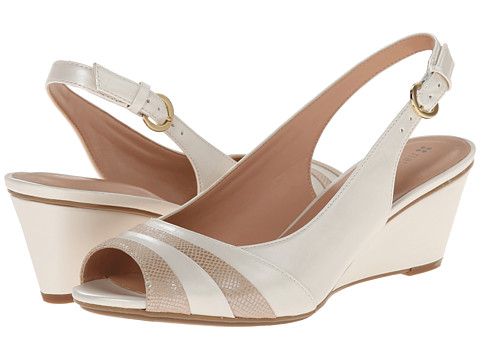 Naturalizer - Hampton (Ivory Pearlized/Taupe Printed Snake) Women