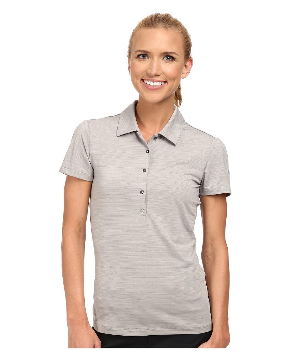 PUMA Golf - Barcode Polo (Turbulence) Women's Short Sleeve Knit
