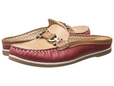 Naturalizer - Hutton (Red Pepper/Saddle Tan/Ginger Leather) Women