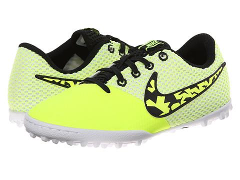 Nike Kids - Elastico Pro III TF Jr Soccer (Toddler/Little Kid/Big Kid) (Volt/White/Black) Kids Shoes