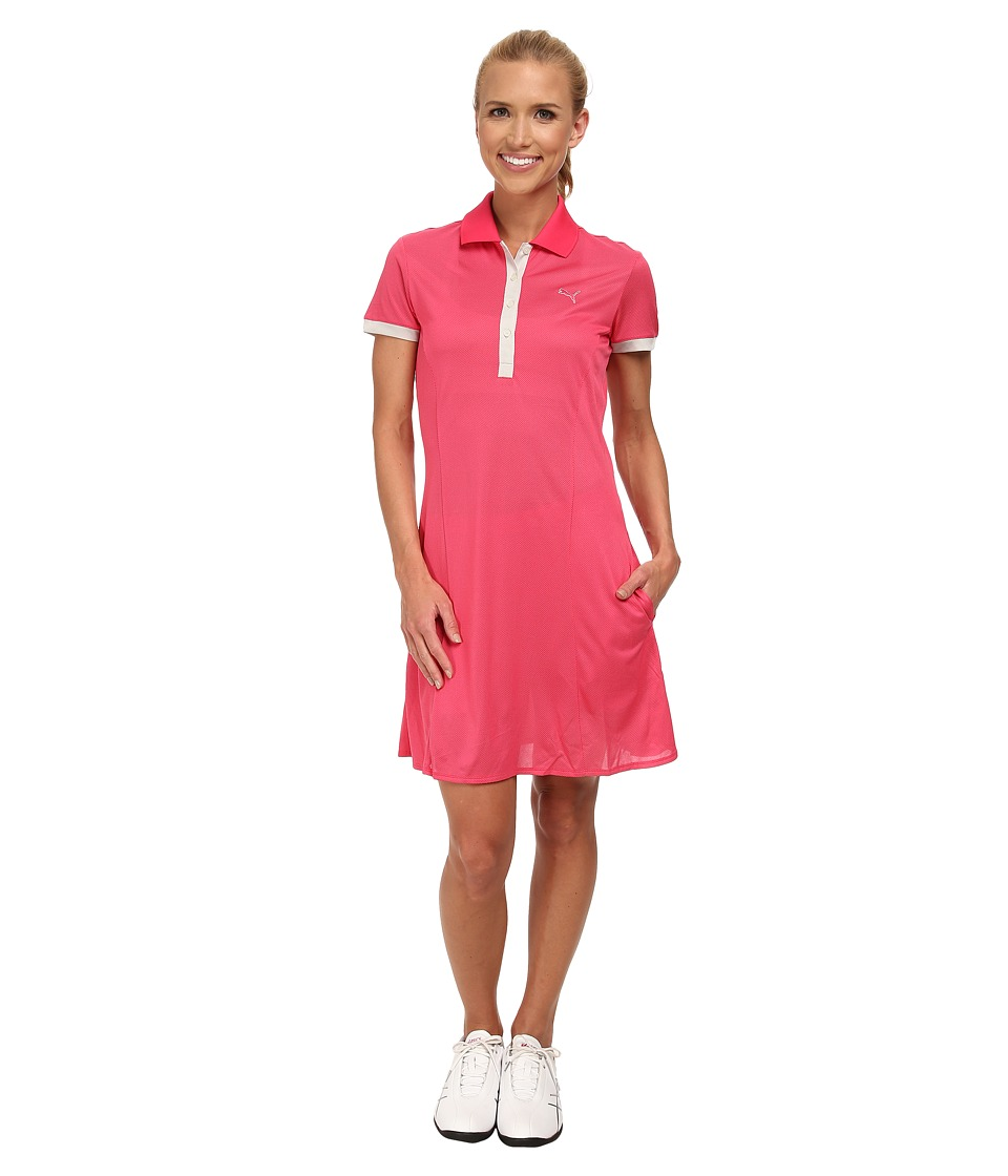 PUMA Golf - Golf Tech Dress (Raspberry) Women's Dress