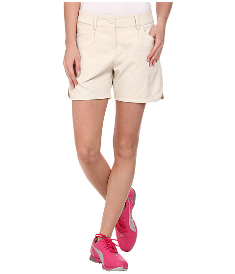 PUMA Golf - Short Short (Oatmeal) Women's Shorts