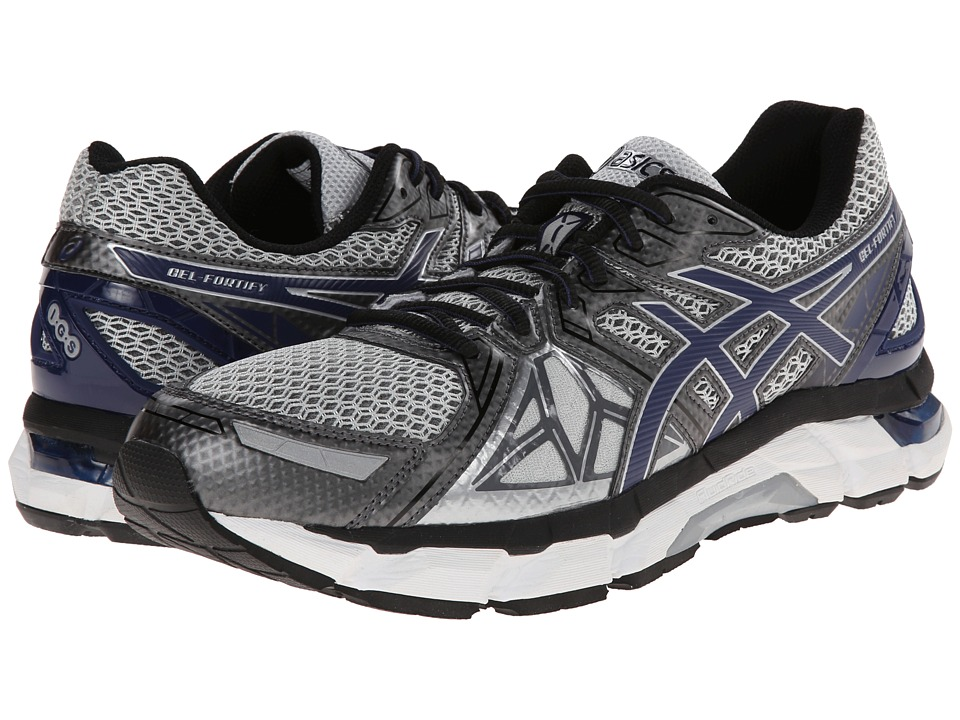 ASICS - GEL-Fortify (Lightning/New Navy/Charcoal) Men's Running Shoes
