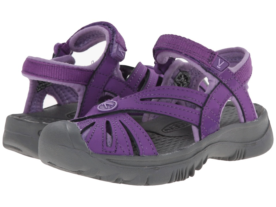 Keen Kids - Rose (Toddler/Little Kid) (Purple Heart/Gargoyle) Girls Shoes