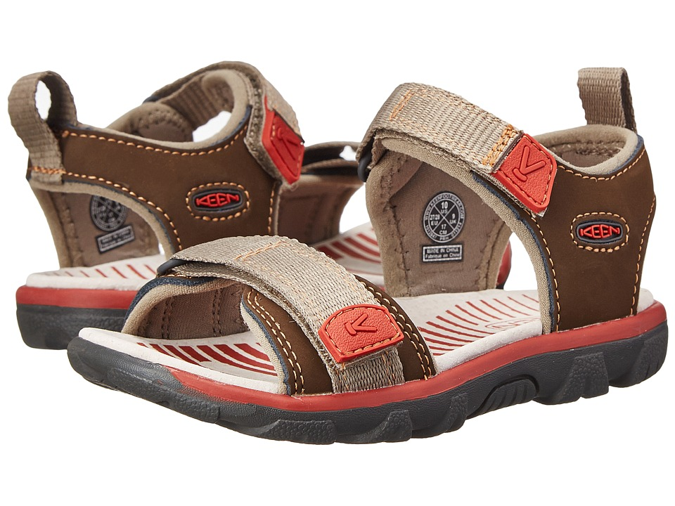 Keen Kids - Riley (Toddler/Little Kid) (Cascade/Bossa Nova) Boys Shoes