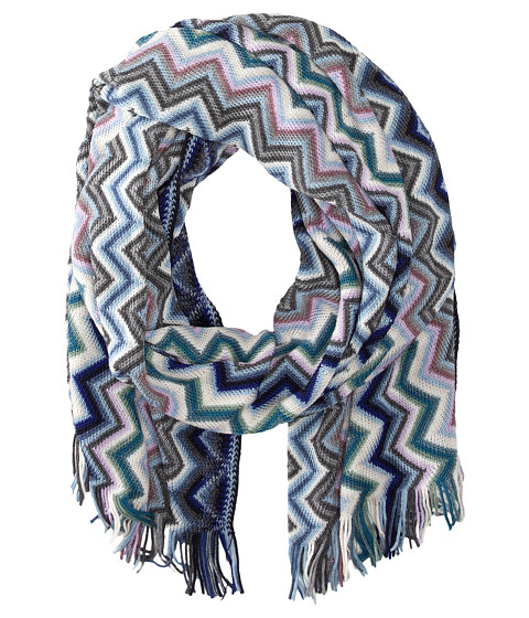 Missoni - SA57WOD4532 (Blue/Green) Scarves