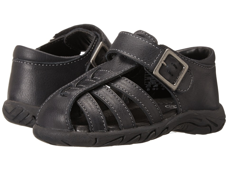 Umi Kids - Baron (Toddler) (Black) Boy's Shoes