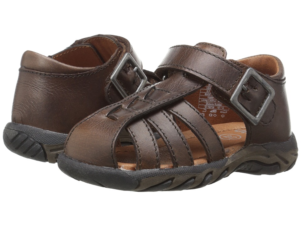Umi Kids - Baron (Toddler) (Cognac) Boy's Shoes