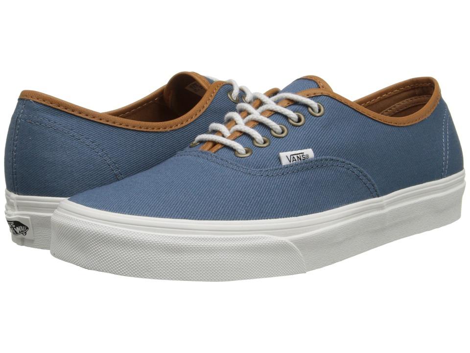 Vans - Authentic ((T&L) Bluestone) Skate Shoes